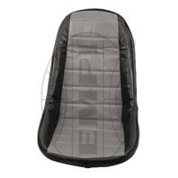 VW BUG BAJA ROCK CRAWLER SAND RAIL LOW-BACK VINYL SEAT COVER, GRAY