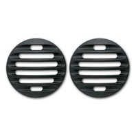 Pirate Mfg FJ0003SB  2007-14 Toyota FJ Cruiser Black Billet Marker Light Guards