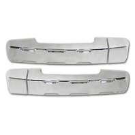 Pirate TU0003SC 2007-12 Tundra Crew Max Chrome Billet Rear Door Handle Covers