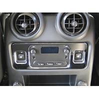 H20046SC 2003-2007 H2 Hummer SUV & SUT Chrome Billet Rear Climate Control Frame