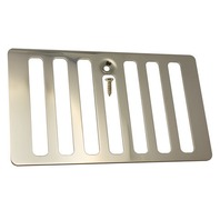 JP2009SS Jeep Wrangler TJ 1998-2006 Polished Stainless Steel Hood Vent Cover