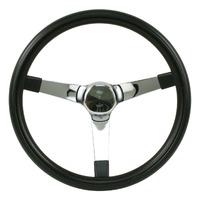 "Steering Wheel 14-3/4 - 4"" Dish Rat Rod Hot  VW Dune Buggy Sand Rail 79-4013"