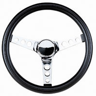 "Steering Wheel 11-1/2 - 3 3/4"" Dish Rat Rod Hot  VW Dune Buggy Sand Rail 79-4051"