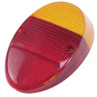 EMPI VW Bug Rear Tail Light Lens 62-67 Euro Style Each 98-1074 111945241DE