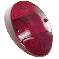 EMPI VW Bug Rear Tail Light Lens 1962-67 Red Style Each 98-1075  111945241D