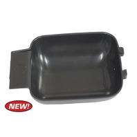 Finger Plate, Inside Door Handle, Black, Each VW T-1 1967-79, T-2 68 74-79, GHIA 64-74, T-3 67-73