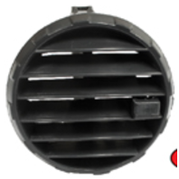 VW Air/Heater Vent Diffuser EACH, Volkswagen Type-2 Bus 1968-UP
