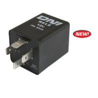 Turn Signal Flasher Relay, 12-Volt, 4 Prong, VW Type-1-2-3 68-70 EMPI 98-8713-B