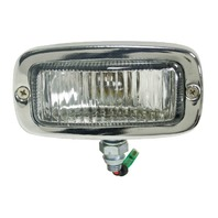 Vw Ghia Type 1 69-71 Back-Up Light Assy, With Left Bracket & Boot 98-9622-X