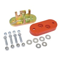 EMPI BUGPACK TRANS AXLE ADAPTER KIT EARLY TRANS 2 BOLT NOSE CONE B651950