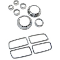 2010-2014 Chevy Camaro Chrome Billet 11pc Interior Trim Kit