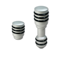Pirate FJ0007SA-KIT 07-14 Toyota FJ Cruiser Silver Billet Shift Knob Pkg Auto