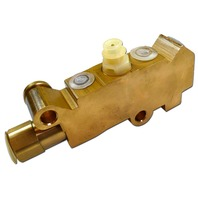 GM Universal Brass Finish Disc/Disc Proportioning Valve Brake Prop Brakes