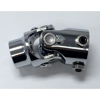 "Forged Steel Chrome Universal Single Steering U-Joint 3/4"" DD x 3/4"" DD"