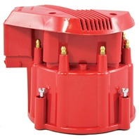 Red HEI Performance Distributor Cap & Rotor Hot V8 SBC BBC Olds Pontiac Chevy