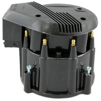 Black HEI Performance Distributor Cap & Rotor Hot V8 SBC BBC Olds Pontiac Chevy