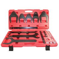 24 Piece Fan Clutch Removal Installation Serpentine Belt Tool And Accessories Set
