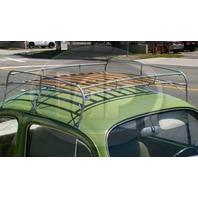 Silver Frame Roof Rack Volkswagen 1949-1977 Bug 1971-1977 Super Beetle VW Type 1