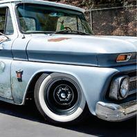 "6 Lug Chrome Spider Center Cap 1947-72 Chevy GMC Truck  6 x 5-1/2"" Bolt Pattern"