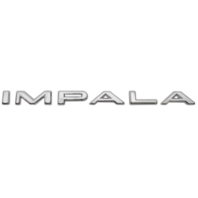 1963 Chevy Impala Letter Set Script Emblem with 12 Clips