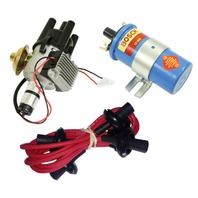EMPI VW SVA Vacuum- Distributor Electronic Ignition, Red Screamer Kit KT-1001