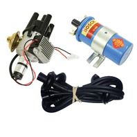 EMPI VW SVA Vacuum- Distributor Electronic Ignition, Black Screamer Kit KT-1003