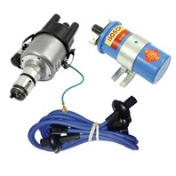 EMPI VW 009 Street- Distributor W/Electronic Ignition, Blue Screamer Kit KT-1014