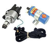 EMPI VW 009 Street- Distributor W/Electronic Ignition, Black Screamer Kit
