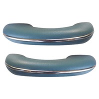 TMI VW BUG BEETLE TYPE 1  Arm rests, 58-67, Type 1 , #24 WATER BLUE, PAIR