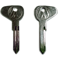 "(2) Key Blanks, Profile ""R"", Classic Air-Cooled VW Bus 1971 - 1979"