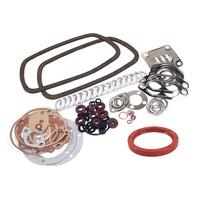 GERMAN ELRING ENGINE GASKET KIT, VW BUG, BUS, GHIA, TYPE 3, 1300-1600CC, W/ REAR MAIN SEAL