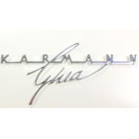 Karmann Ghia Script Emblem 1963-1974 343-853-905