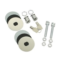 EMPI  VW BUG  BAJA HOOD LOCKING PIN KIT WITH KEYS , 3018