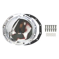 Chrome Steel Chevy GM 12 Bolt Diff  Differential Cover