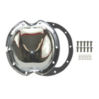 Chrome Steel Chevy GM 10 Bolt Differential Cover For 8.2 Inch Ring Gear