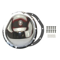 Chrome Steel Chevy GM 10 Bolt Diff Differential Cover Truck 77-91 FRONT