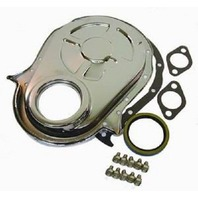 Chrome BBC Chevy 396-454 Timing Chain Cover Kit