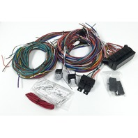 Complete Universal 12v 24 Circuit 20 Fuse Wiring Harness Wire Kit V8 Rat Hot Rod