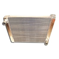 "Chevy Universal Aluminum Radiator 25"" W/ Mounting Holes"