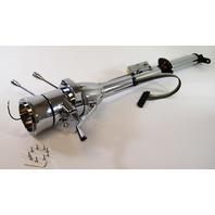 """Street Rod Chrome 30"""" Tilt Steering Column With Ignition Column Shift"""