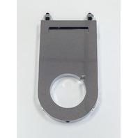 Hot Rod Chrome Aluminum 2 x 4 1/2 Inch Steering Column Drop W/Key Notch