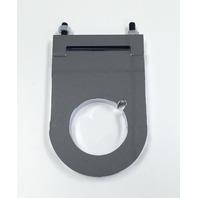Hot Rod Chrome Aluminum 2 x 3 1/2 Inch Steering Column Drop W/Key Notch