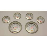 HOT ROD 6 PC. GAUGE SET ELECTRONIC SPEEDO