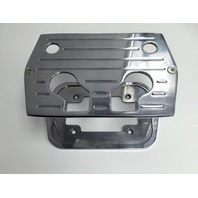 Polished B/Milled Billet Aluminum Optima Battery Tray - Chevy/Ford/Mopar