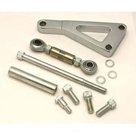 Chrome Aluminum Alternator Bracket SBC Chevy LWP 283-350-400 V8 Hot Street Rod