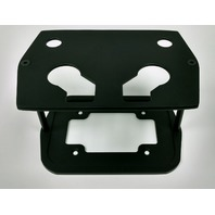 Black Powder Coat Cast Aluminum Optima Battery Tray - Chevy/Ford/Mopar