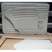 VW BUG 65-66 TMI  DOOR PANEL SET W/POCKETS,4-PC SET, OFF-WHITE 10-1128-15