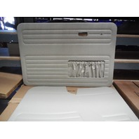 VW BUG 68-78 TMI  DOOR PANEL SET W/POCKETS,4-PC SET, OFF-WHITE 10-1129-15