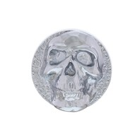 Chrome Skull Universal Dash Knob For Car Truck Hot Rod Rat Rod Street Rod V8