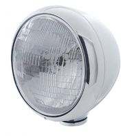 "UPI 31785 Chrome Classic ""Guide"" Headlight - H6024 Halogen Bulb -30356"